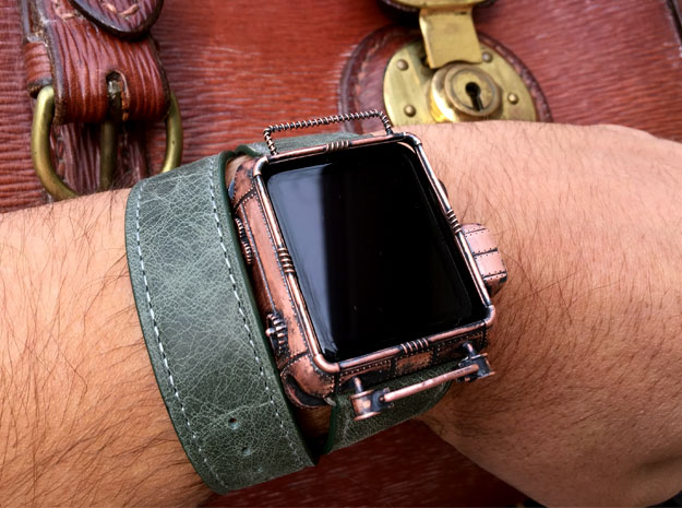 Steampunk Apple Watch